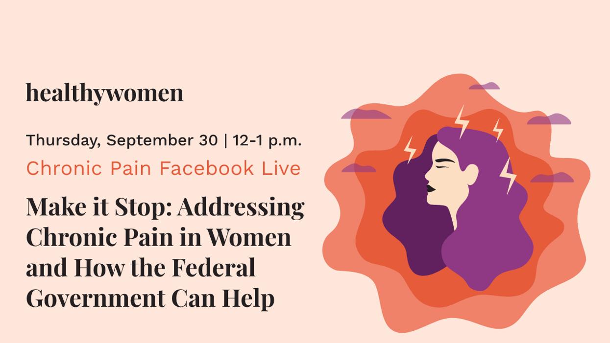 Facebook Live: Addressing Chronic Pain in Women - image