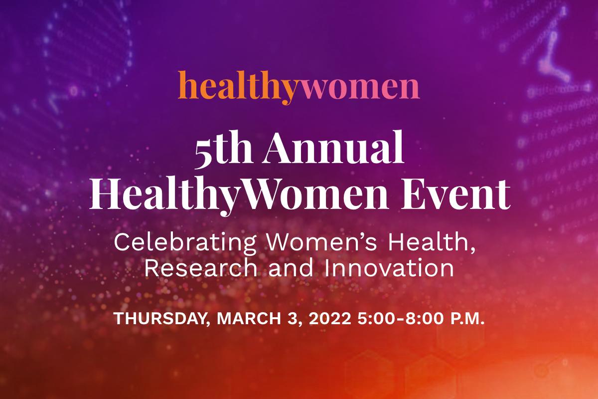 2022 HealthyWomen Annual Event