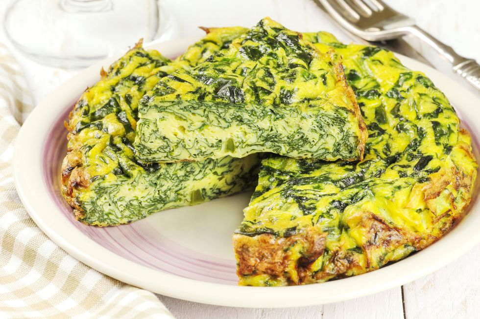 French Spinach Frittata