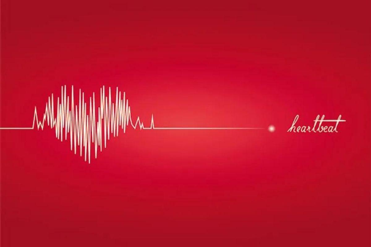 heartbeat cardiogram line