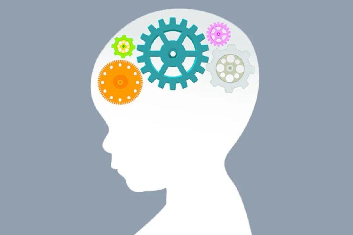illustration of a child's brain