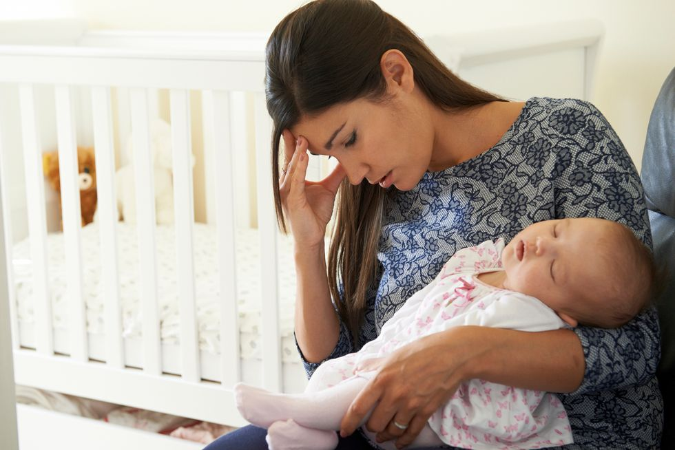 Most Pediatricians Don't Ask About Mom's Depression