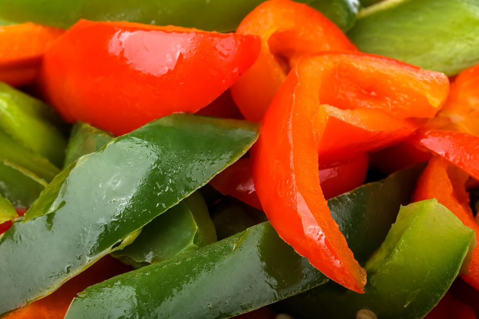 Sautéed Sweet Peppers