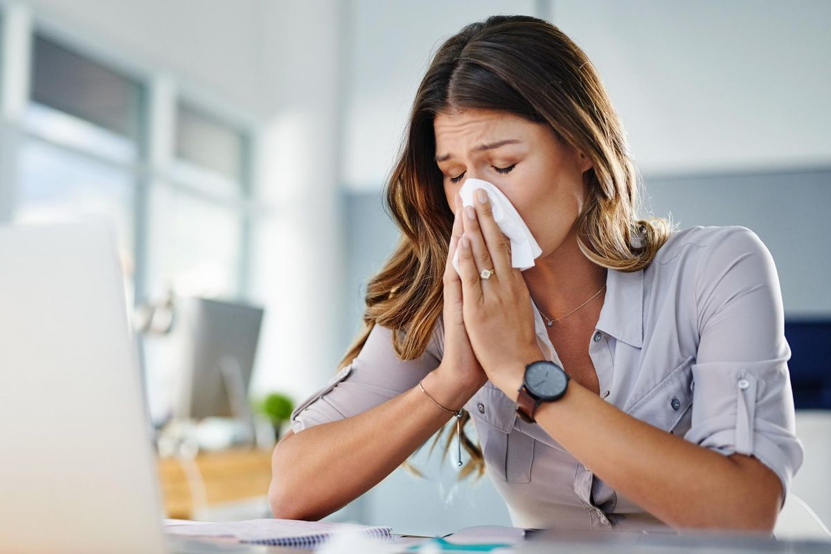 Working Women Managing the Flu