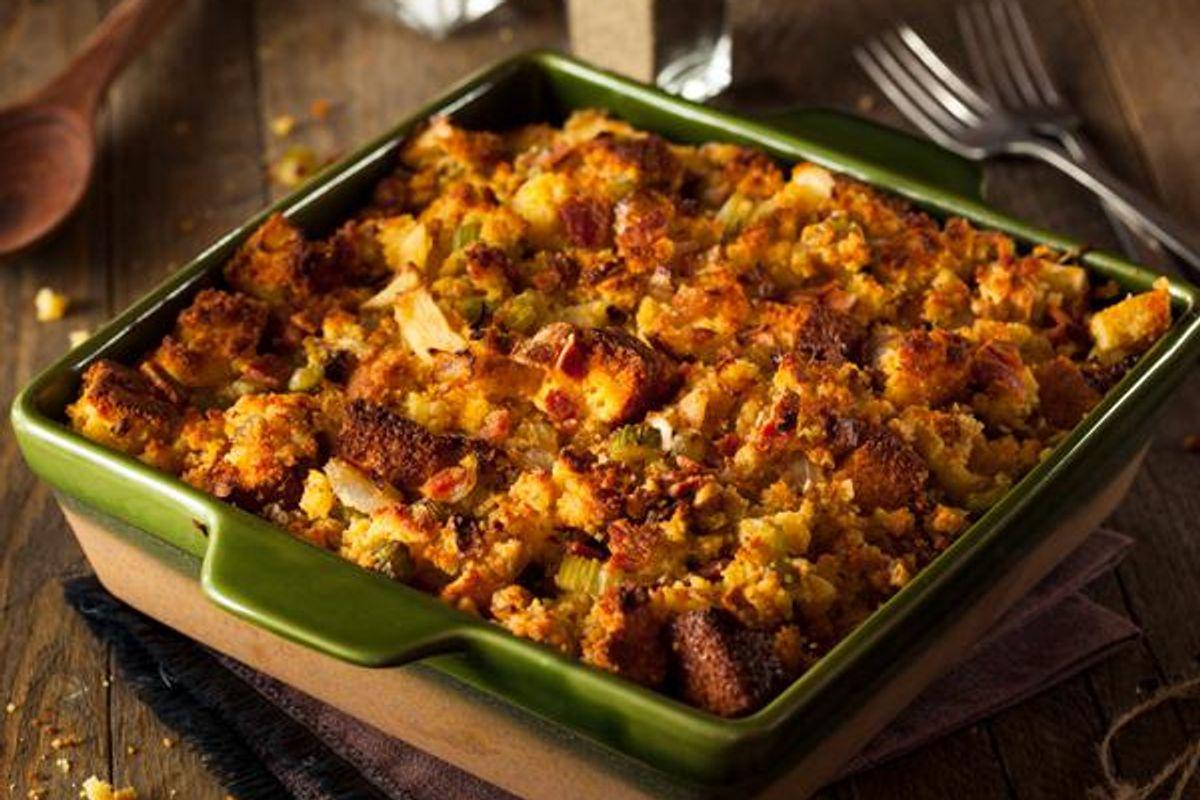 Cornbread-Broccoli Stuffing