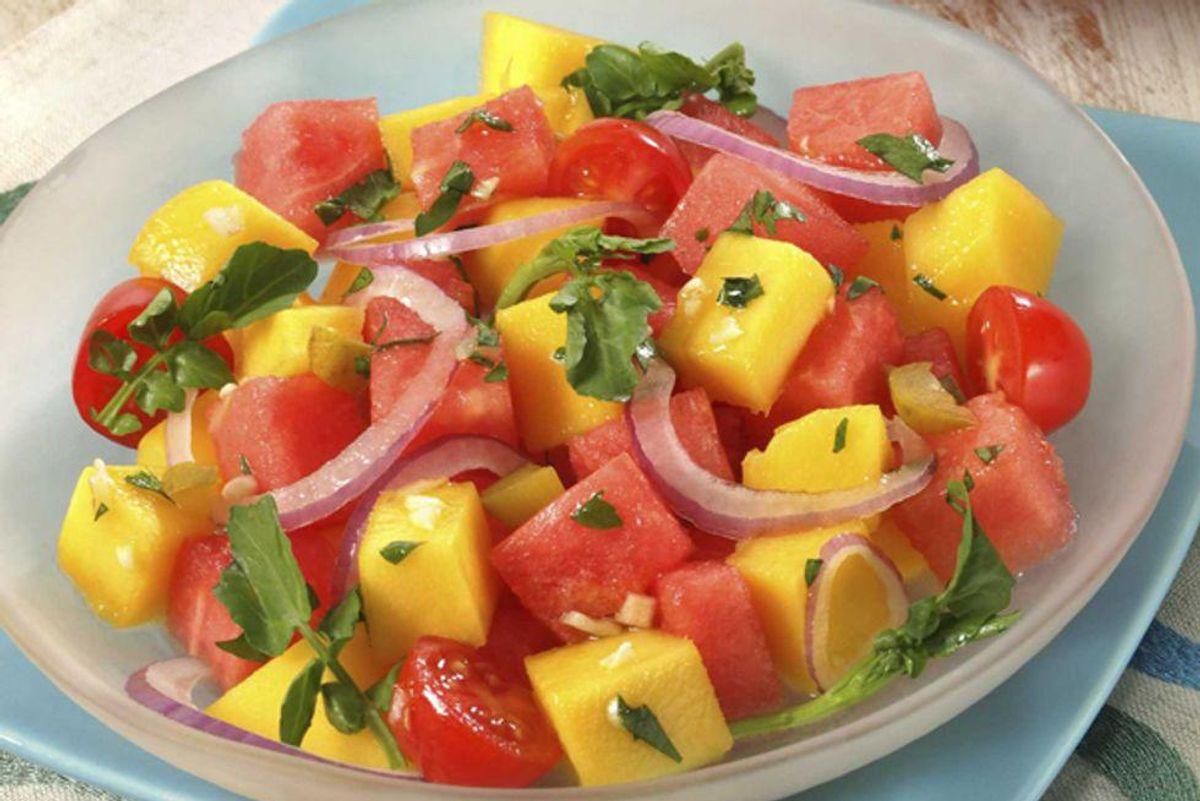 Mango and Watermelon Salad