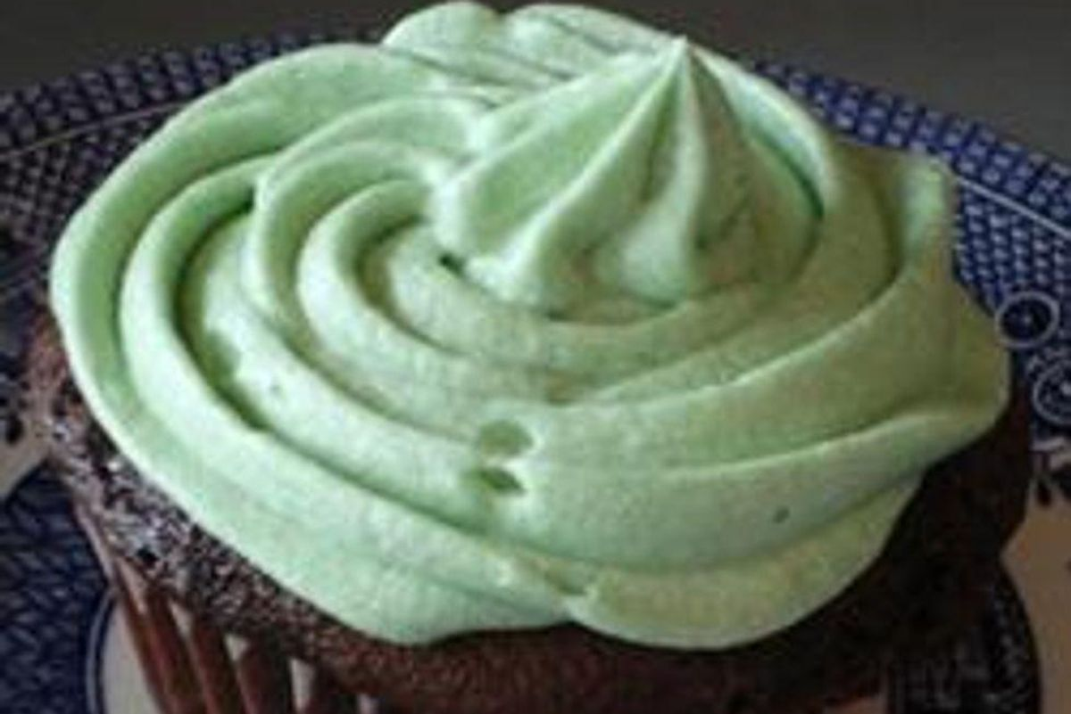 Chocolate Cake with Semi-Sweet Chocolate Icing