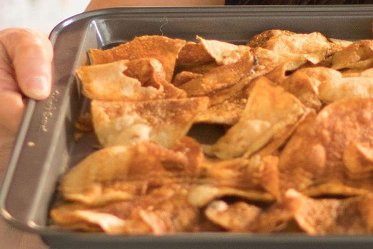 Herb-Infused Ranch-Style Sweet Potato Chips With Coconut Oil