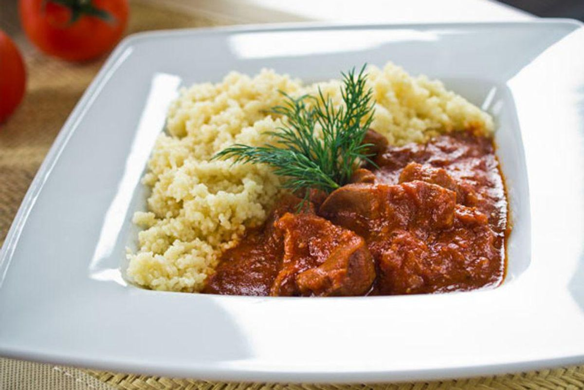 Middle Eastern Beef Tagine