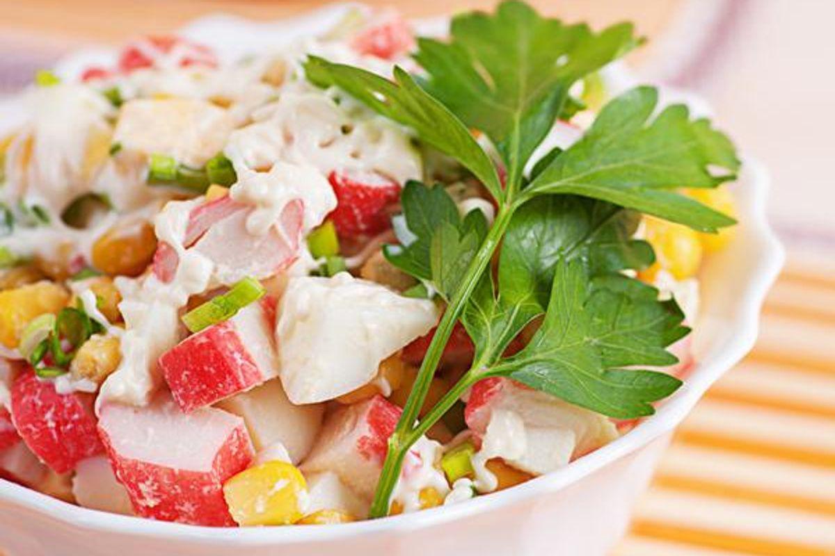 Crab Salad With Citrus Fruit