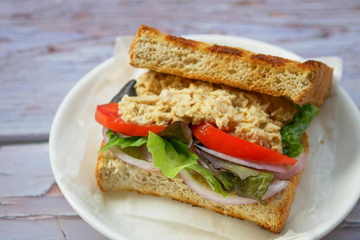 Fennel and Tuna Sandwich