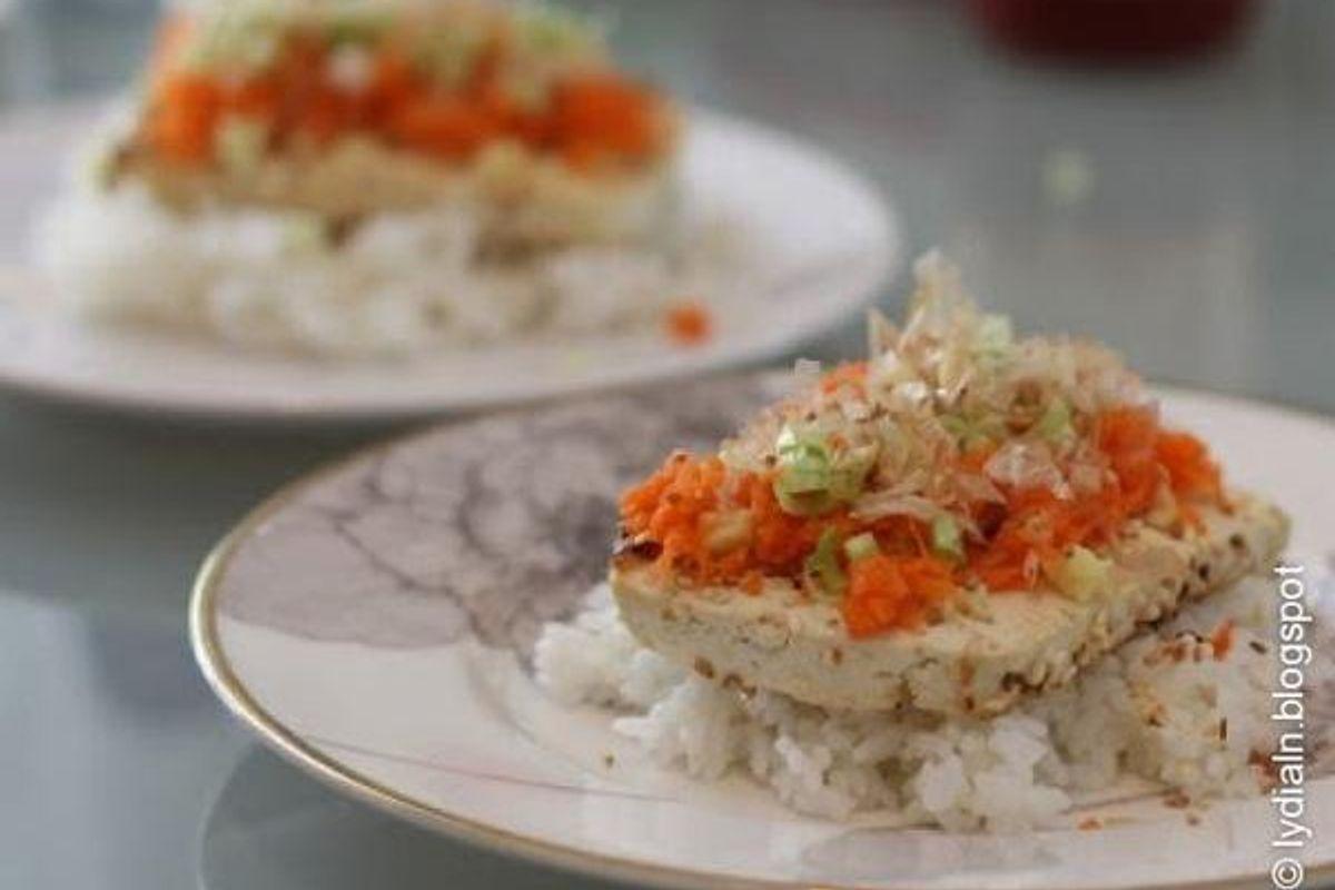 Sesame-Seared Tofu