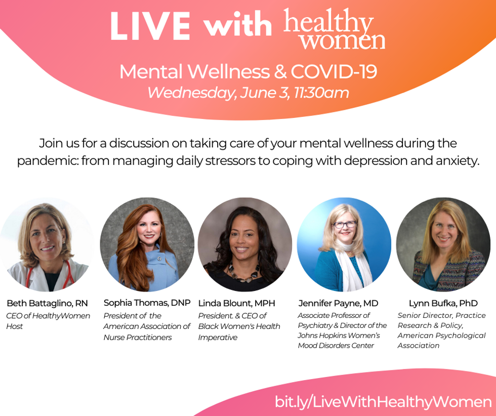 LIVE with HealthyWomen: Webinar Series
