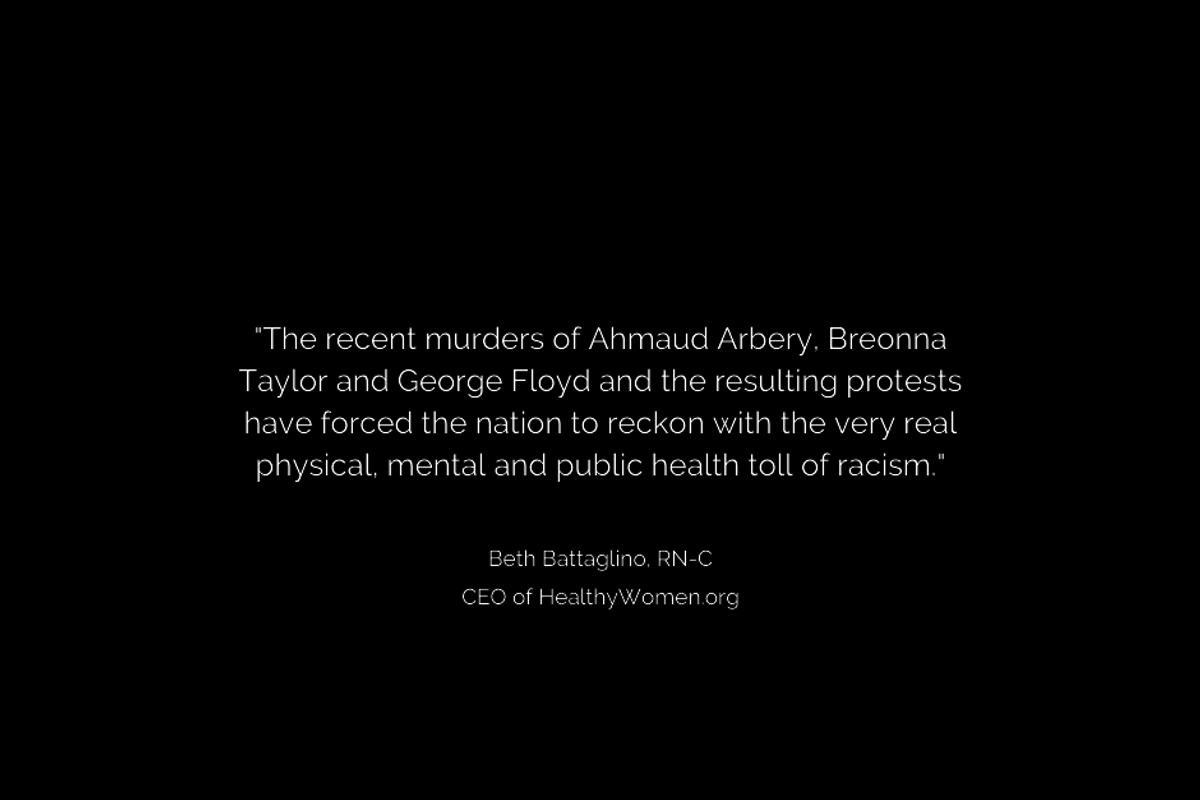Diversity & Inclusion Statement From HealthyWomen CEO Beth Battaglino, RN-C