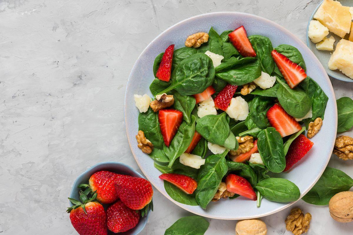 Jicama and Strawberry Salad