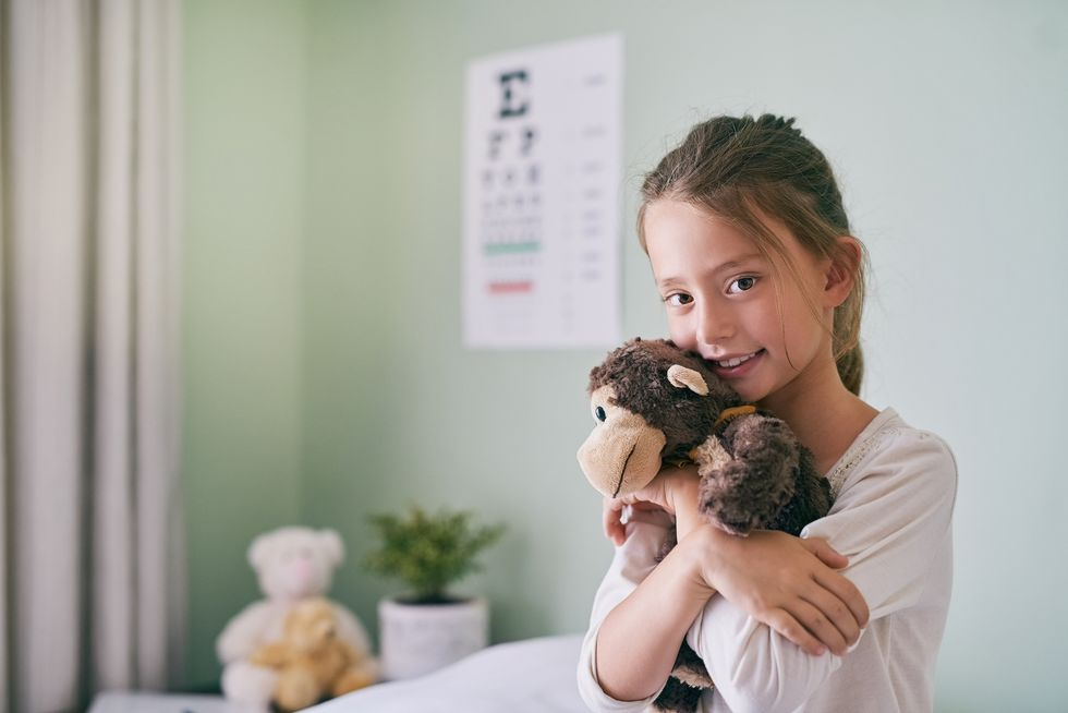 Kids, Don't Touch the Toys at the Doctor's Office
