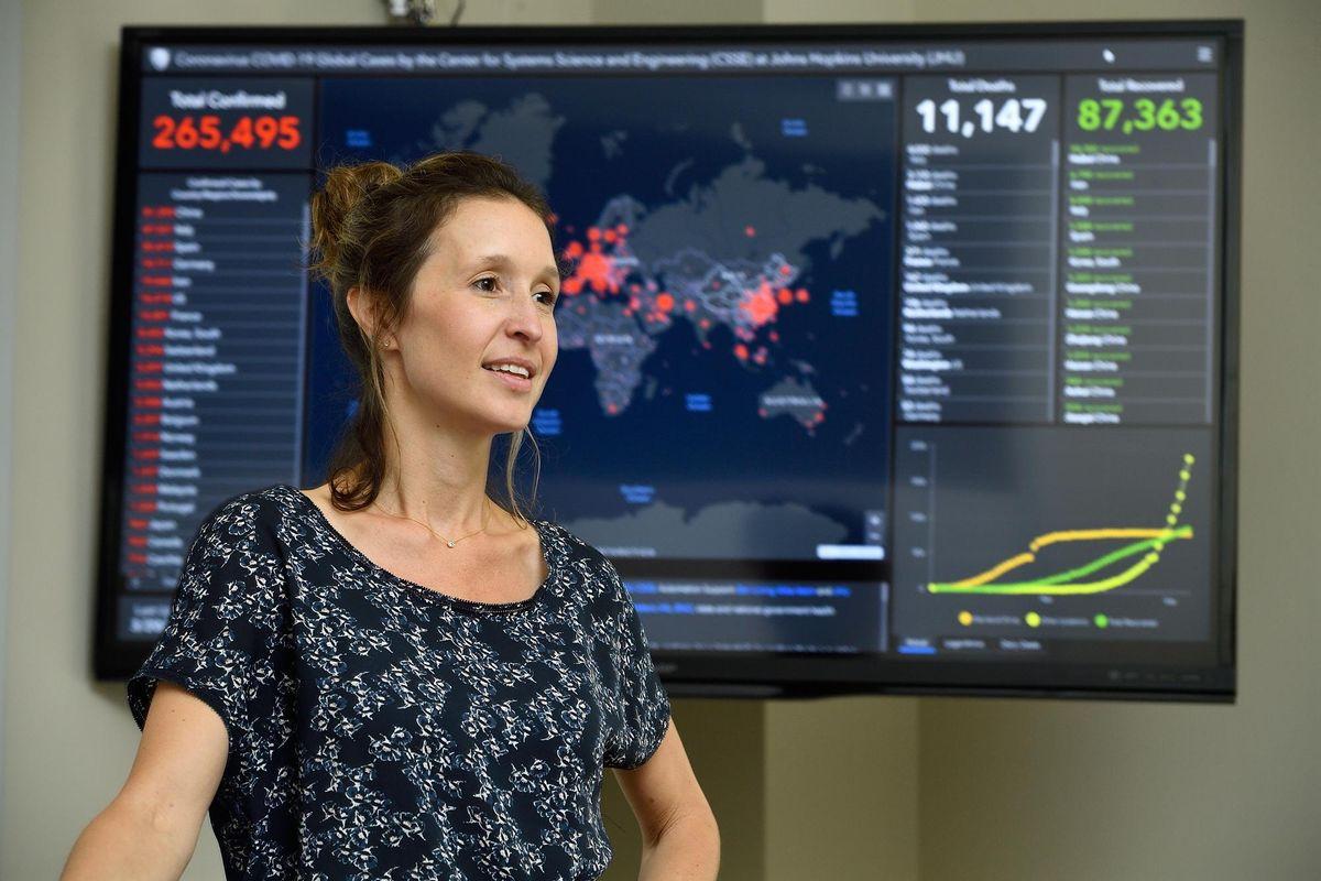 Lauren Gardner, creator of Johns Hopkins covid-19 dashboard