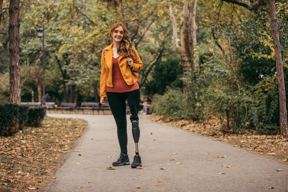 New Prosthetic Leg Can Feel Touch