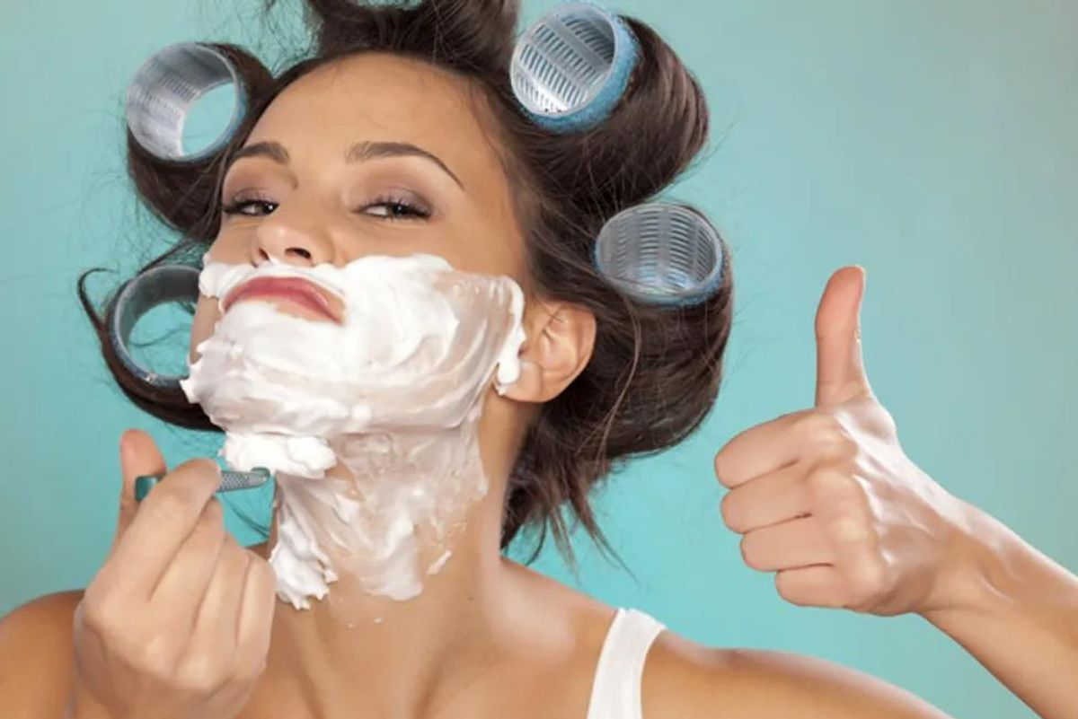 Shaving Face: The Truth About Facial Hair