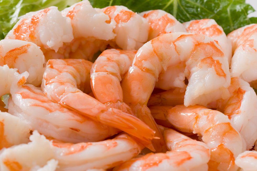Shrimp and Radicchio Salad