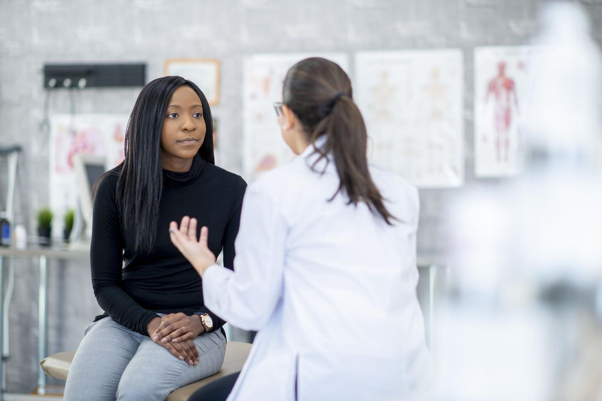 Talking With A Patient
