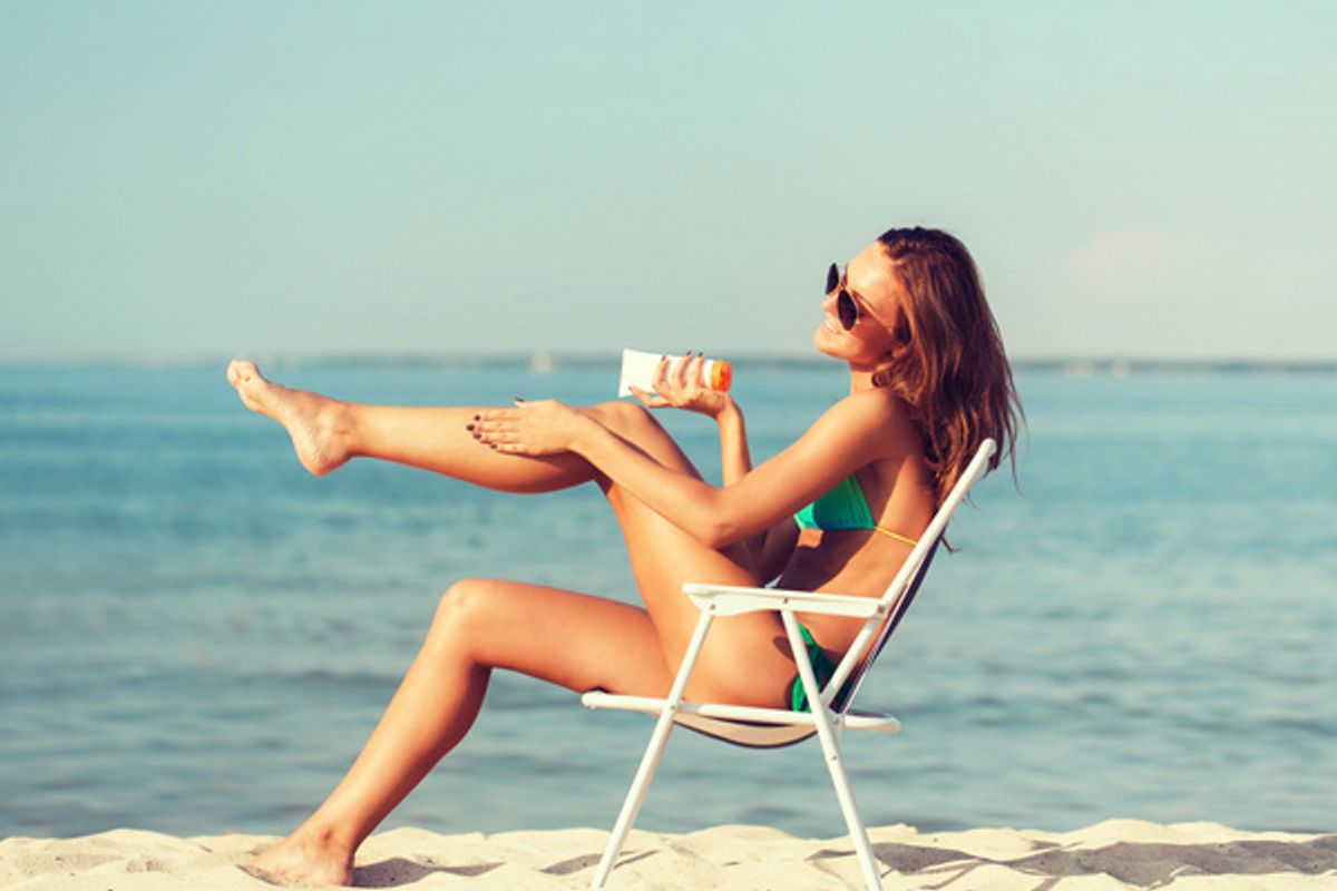 The Place You're Probably Forgetting to Put Sunscreen