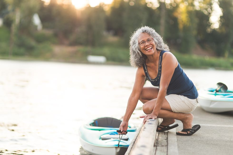 The Upside to Menopause