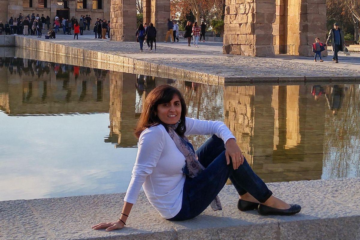 Tina Aswani Omprakash in Madrid, 2016