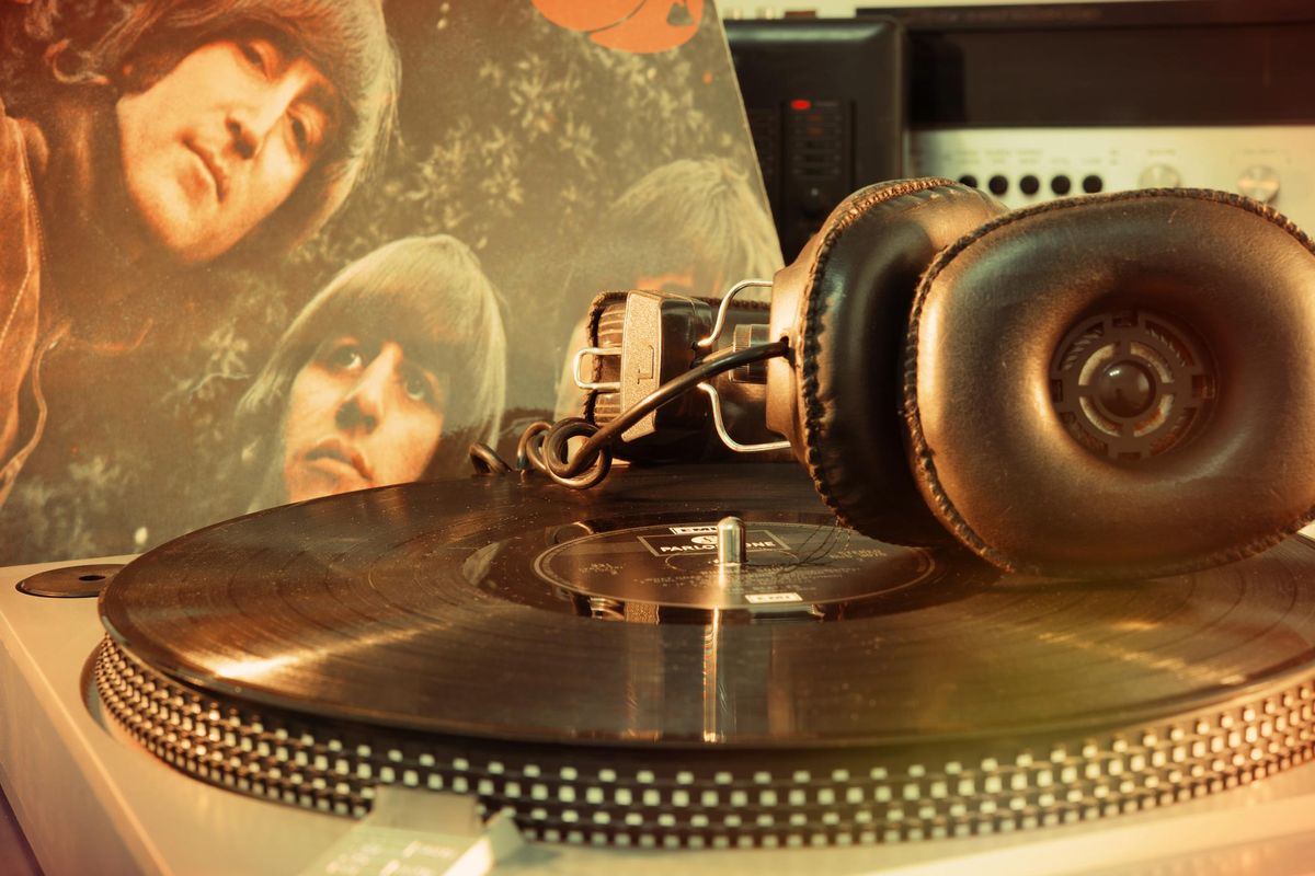 Vintage Beatles album